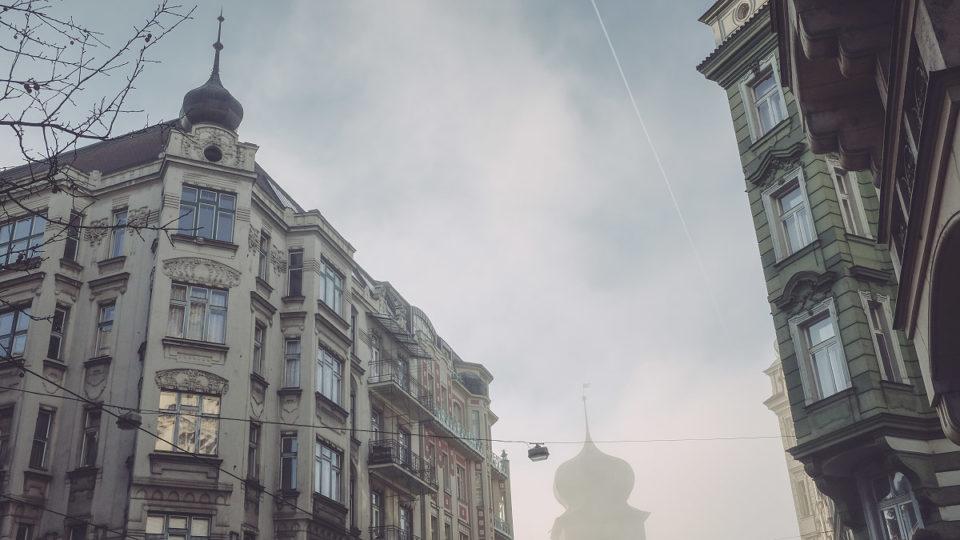 Praha aneskutečný zimní světlo | © Jsem Jary