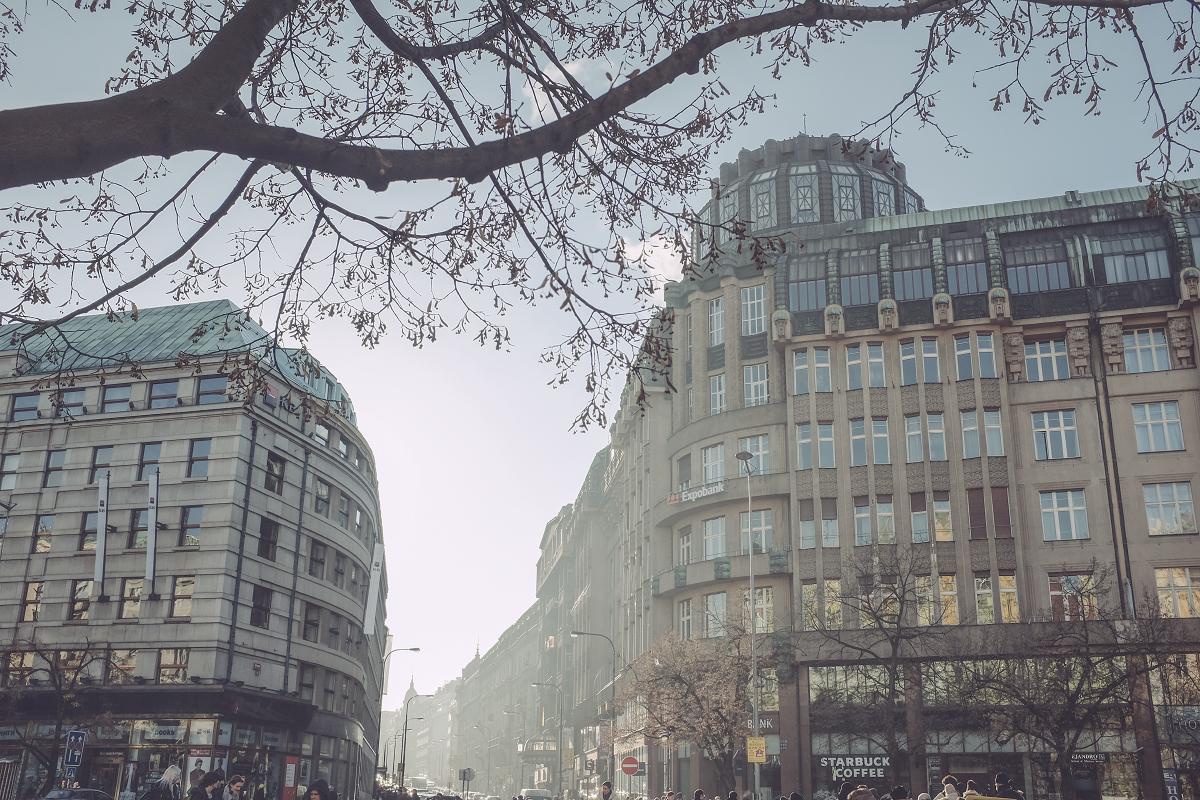 Praha v zimě | © Jsem Jary