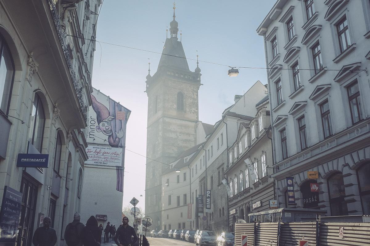 Praha v zimě - Vodičkova | © Jsem Jary