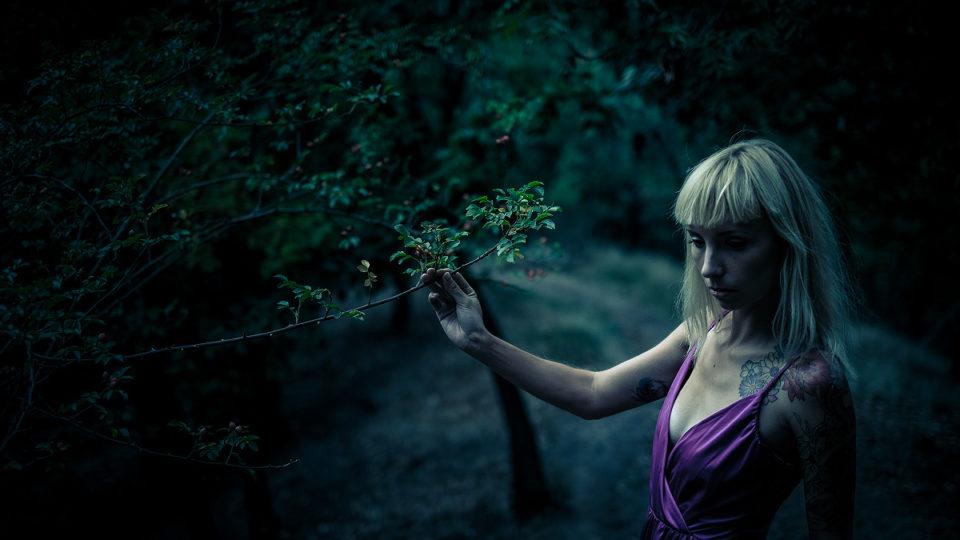 Zatoulaná Bára vlese | © Jsem Jary