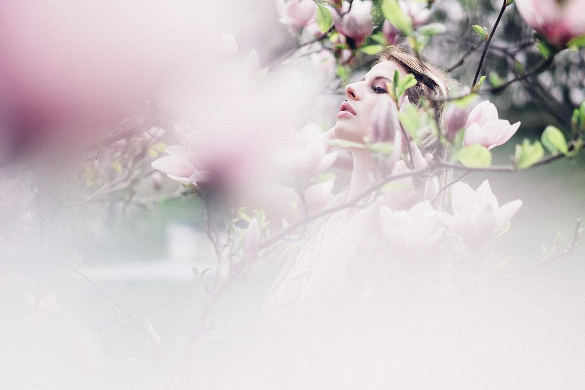 Jarní minifocení umagnólie